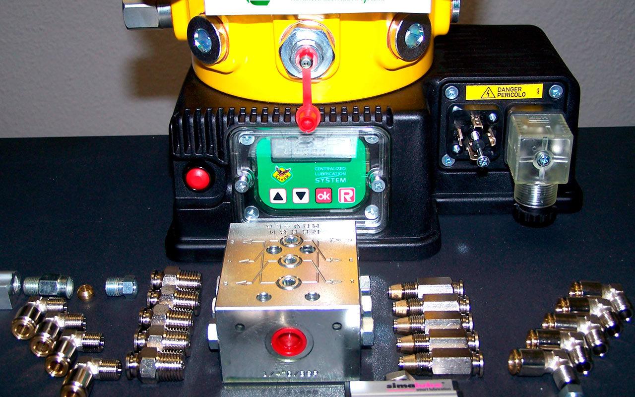 Raasm sistemas de engrase y lubricación centralizados