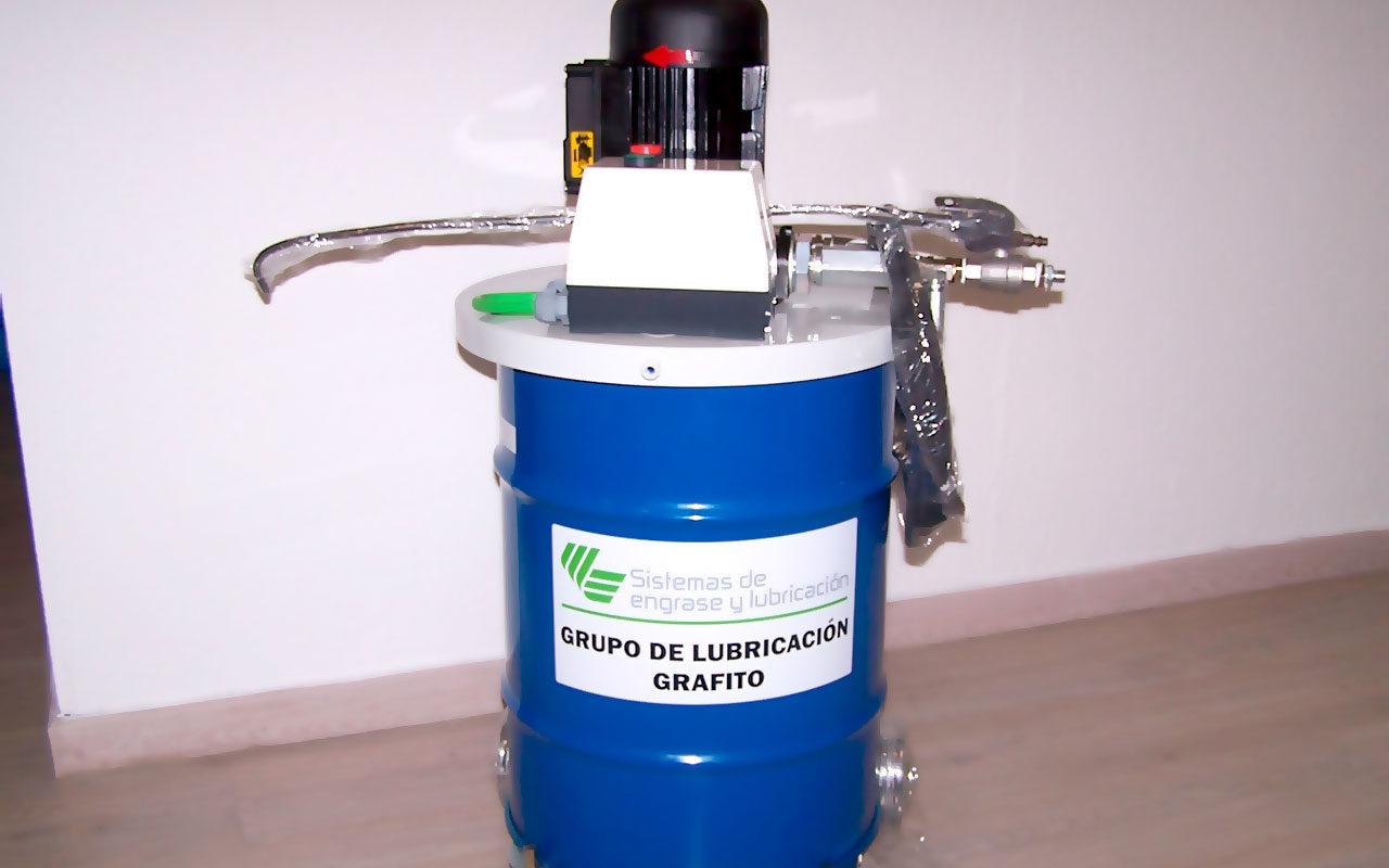bomba de lubricación grafito