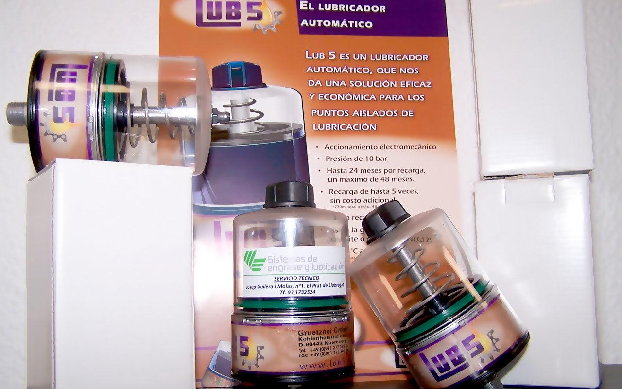 engrasador automático lub 5